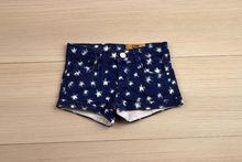 Къси панталонки - KAYLA - тъмно сини от 1 до 8 годишни
