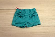 Къси панталонки - BRIANNA - зелени за 1 годинка