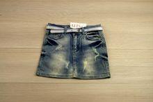 Детска дънкова пола - MIA- светло синя от 6 до 12 годишни