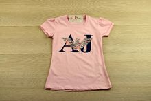 Блуза с къс ръкав - AJ - розова от 6 до 14 годишни