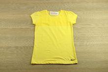 Детска блуза с къс ръкав - Yellow - жълта от 5 до 12 годишни