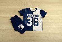 Комплект за момчета - BEST 36 - син от 12 до 36 месечни