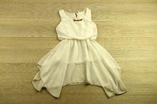Рокля за принцеси - бяла за 2 годишни