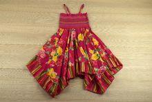 Детска ежедневна рокля - розова за 2 годишни