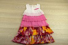 Свежа детска рокля - розова за 12 годишни