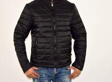 Пролетно - есенно мъжко яке - 1109 - черно 5XL