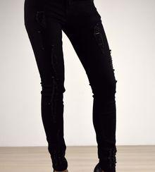 Дамски панталон - 026 - черен
