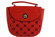 Дамска чанта - DUDLIN - червена