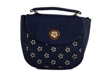 Дамска чанта - DUDLIN - тъмно синя