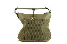 Дамска чанта с органайзер - CO FASHION - сива