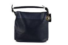 Дамска чанта с органайзер - CO FASHION - тъмно синя
