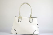Модна дамска чанта - DANBLINI - бяла