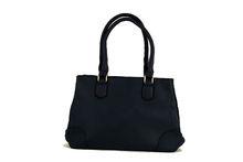 Модна дамска чанта - DANBLINI - тъмно синя матова
