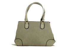 Модна дамска чанта - DANBLINI - сива