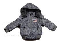 Зимно яке за момчета - 9001 - сиво от от 1 до 6 г.
