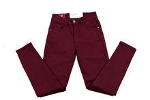 Есенно - зимен дамски панталон - MISS BONBON - светло бордо