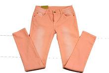 Дамски панталон големи размери - 045 - розов