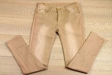 Дамски панталон големи размери - 045 - бежов