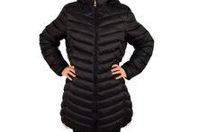 Свежо зимно дамско яке до 6 XL - 1614 - черно