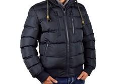 Мъжко зимно яке - 1126 - тъмно синьо