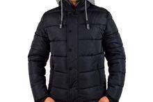 Мъжко зимно яке - 1127 - тъмно синьо