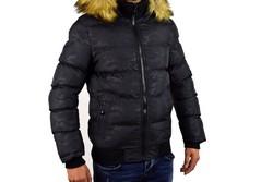 Зимно мъжко яке - 1130 - черно