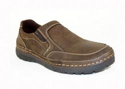 Мъжки обувки - 0905 - ЕСТЕСТВЕНА КОЖА - кафяви