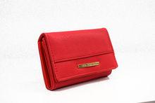 Дамски портфейл - 516 - червен
