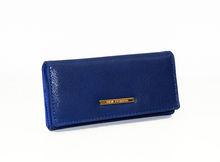 Дамско портмоне - 530 - тъмно синьо