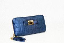 Дамско портмоне - 535 - тъмно синьо