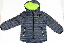 Пролетно - есенно яке за момчета от 8 до 16 години - 4001 - сиво