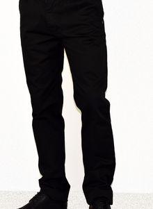 Спортно - елегантен мъжки панталон -1002 - черен