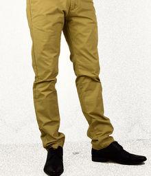Спортно - елегантен мъжки панталон - 1005 - бежов