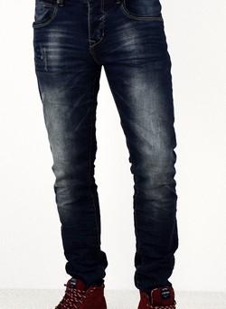Модни мъжки дънки сезон пролет - есен - 3009 - сини