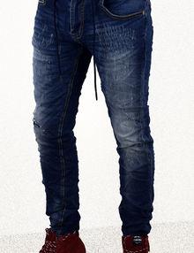 Модни мъжки дънки сезон пролет - есен - 3015 - сини