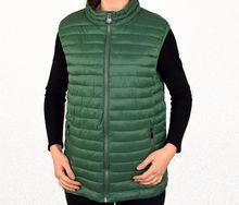 Пролетна дамска грейка до 3 XL - 1016 - тъмно зелена