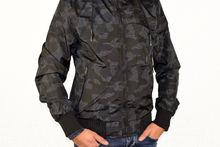 Актуално мъжко пролетно - есенно яке до 3XL - 1116 - черно