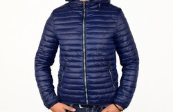 Мъжко пролетно - есенно яке  - 1119 - тъмно синьо