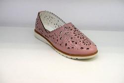 Дамски обувки ЕСТЕСТВЕНА КОЖА - 6601 - розови