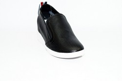 Дамски обувки на платформа - 0901 - черни