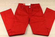 Дамски панталон макси размер -SUNBIRD - червен