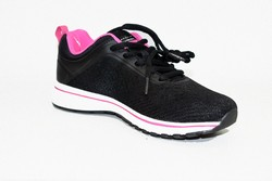 Дамски маратонки - 8012 - черни