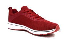 Модни мъжки маратонки - 5508 - червени