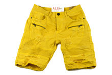 Мъжки къси панталони - 1993 ENOS - жълти