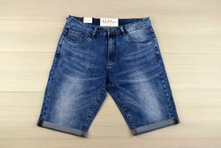 Къси мъжки дънки -VIMAN 03 - сини от 34 до 44 размер