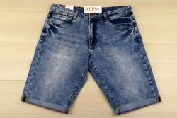 Къси мъжки дънки - VIMAN 05- сини от 34 до 44 размер