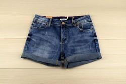 Къси дънкови панталонки - M.SARA 8814 - сини