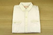 Мъжка риза с дълъг ръкав - BACARDA 04- бяла