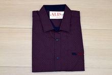 Мъжка риза с къс ръкав - NOSEDA 03 до 6XL - бордо