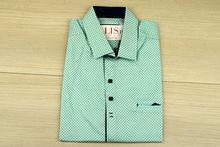 Мъжка риза с къс ръкав - NOSEDA 06 - цвят мента